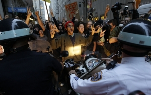 """Occupy Wall Street Protests In New York City Turning UGLY"""