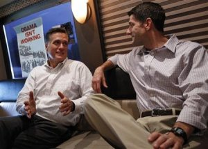 Mitt Romney And Rep. Paul Ryan