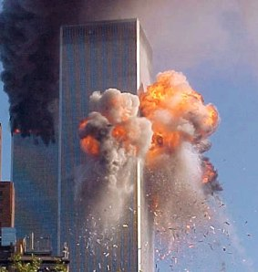 """WTC Twin Towers Attacked On September 11th, 2001"""